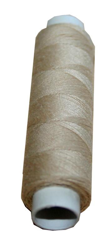 Nähmaschinen Nähgarn Polyester 100 m 100/3 beige (1035)