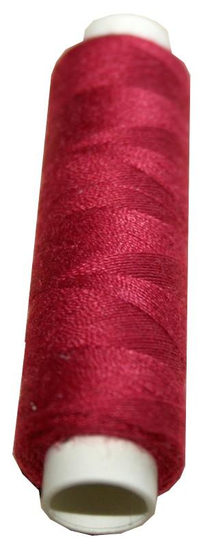 Nähmaschinen Nähgarn Polyester 100m 100/3 bordeaux weinrot (1072)