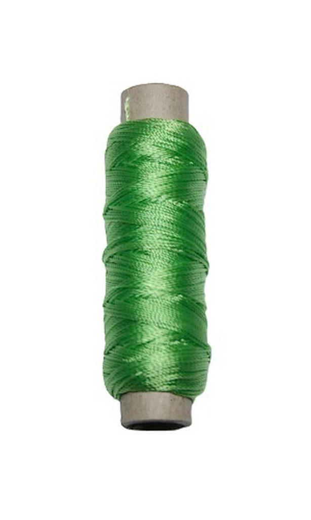 Sattlergarn Zwirn 14x2x3 Polyester 50 m hellgrün Ø 0,3mm (2718)
