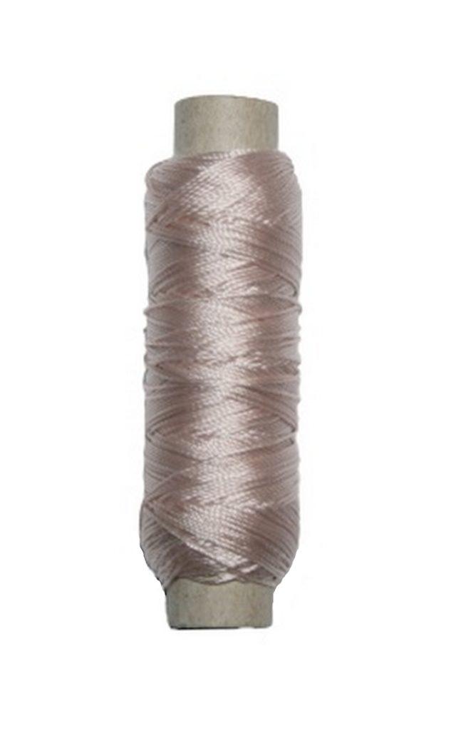 Sattlergarn Zwirn 14x2x3 Polyester 50 m beige Ø 0,3mm (5042)