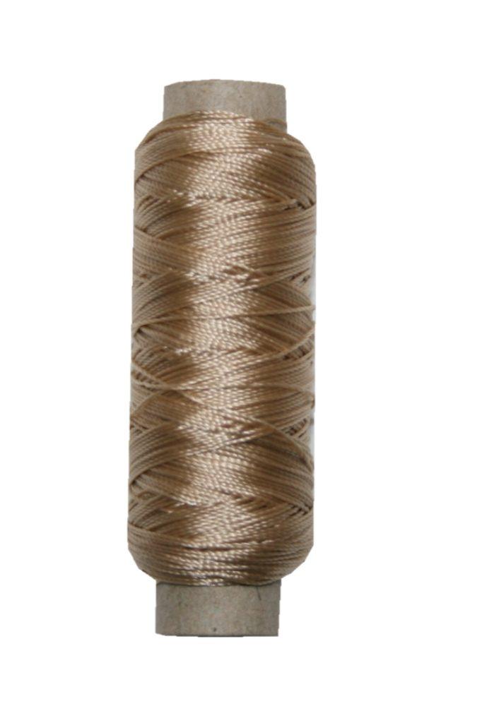 Sattlergarn Zwirn 14x2x3 Polyester 50 m beige Ø 0,3mm (5083)