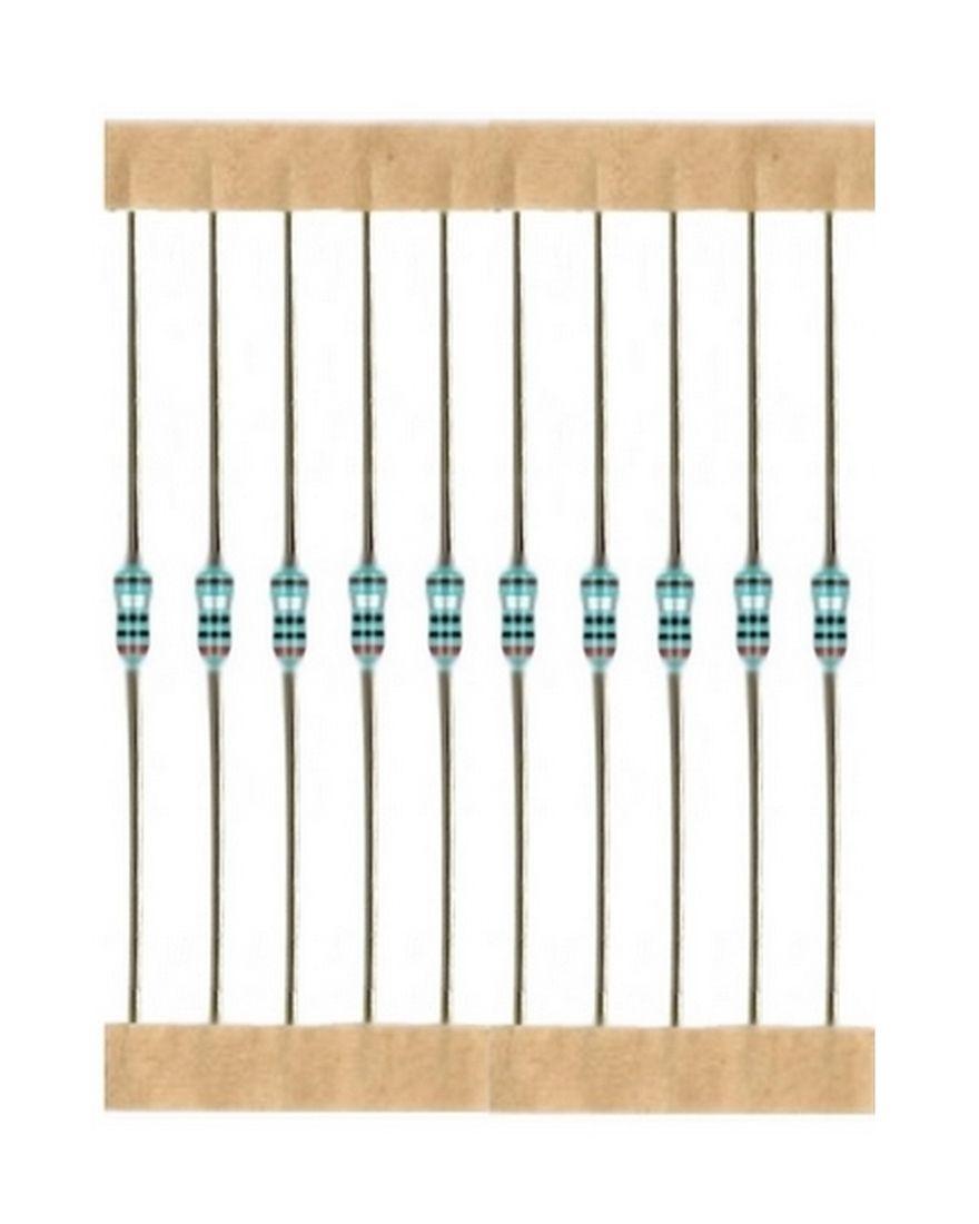 Kohleschicht Widerstand Resistor 9,1 Ohm 0,25W 5% 10 Stück (1023)