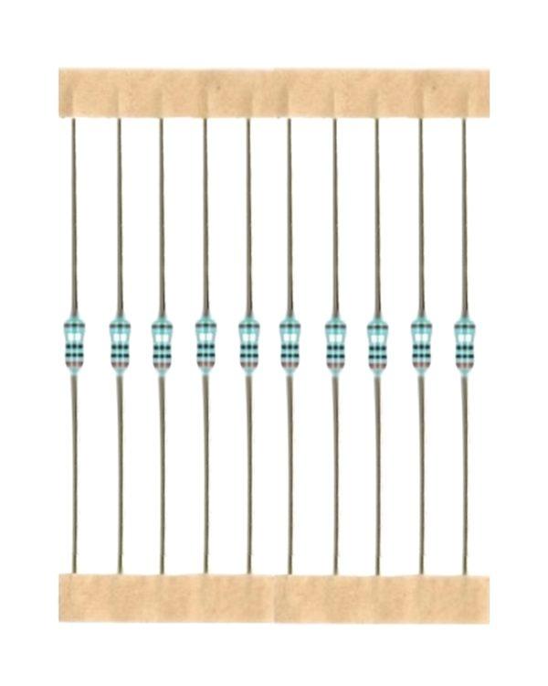 Kohleschicht Widerstand Resistor 750 kOhm 0,25W 5% 10 Stück (6021)