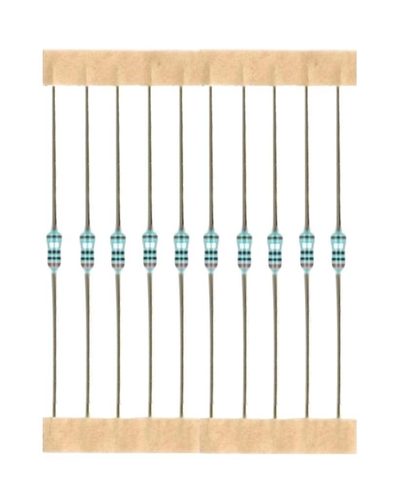 Kohleschicht Widerstand Resistor 1,2 MOhm 0,25W 5% 10 Stück (7002)