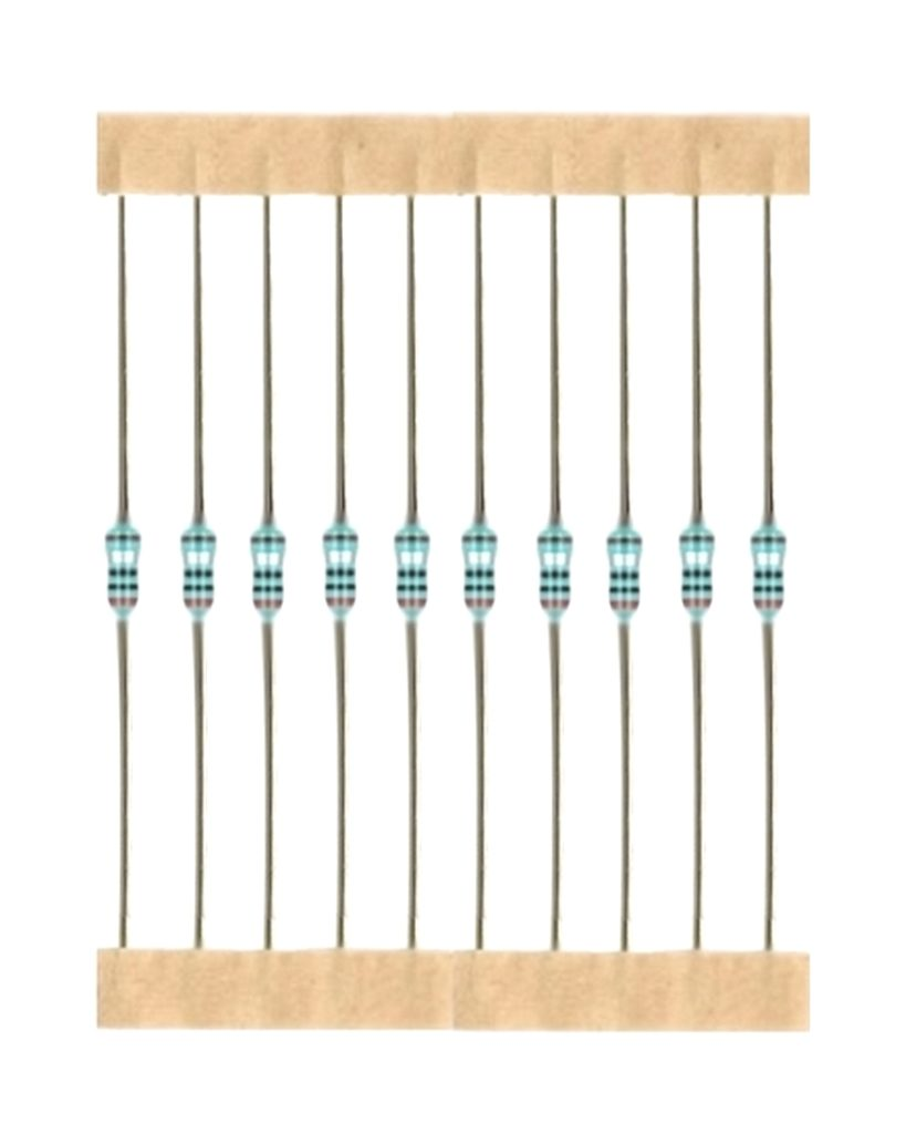 Kohleschicht Widerstand Resistor 1,6 MOhm 0,25W 5% 10 Stück (7005)