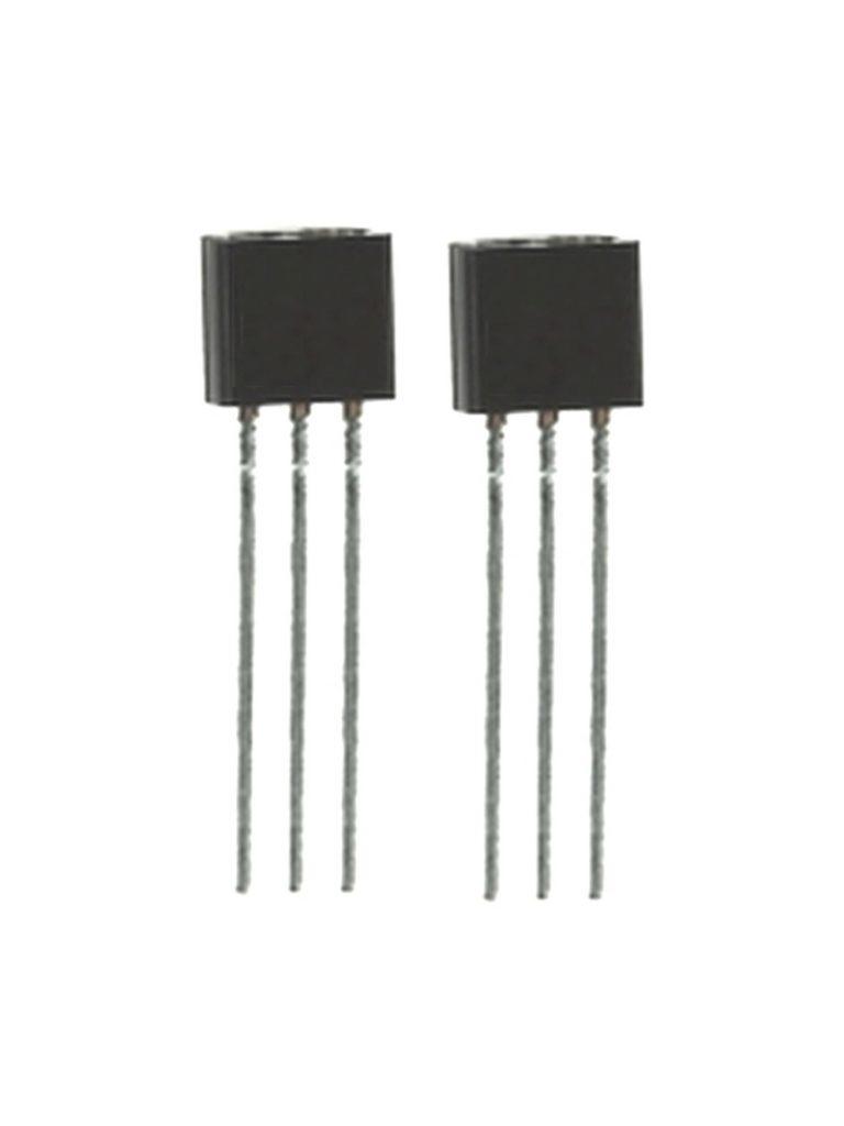 MCP1700 Low Current Spannungsregler (LDO) Ruhestrom 1,6uA TO92 2 Stück (0056)
