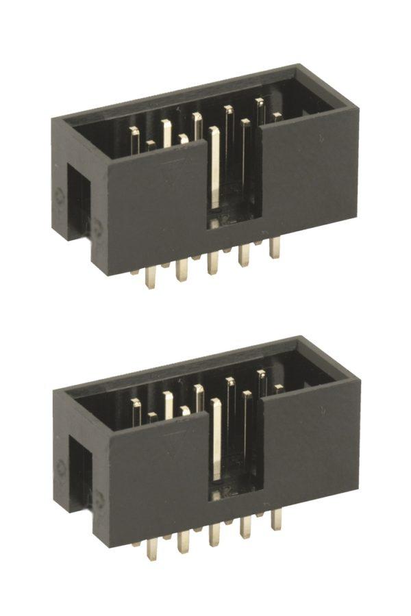 Wannenstecker 2x5Pin gerade zweireihig Arduino Raspberry Pi 2 Stück (0077)