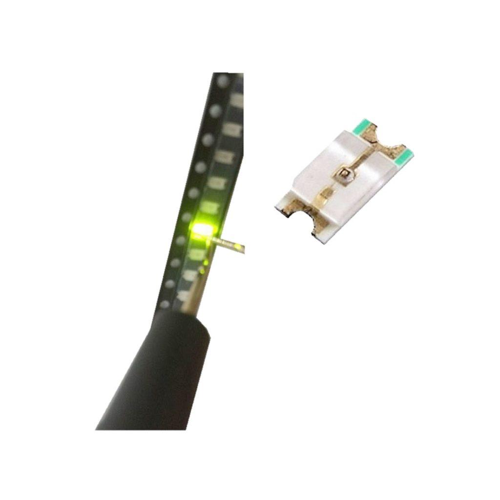 SMD LED 0603 Leuchtdiode grün Ultrahell 50 Stück (0006)