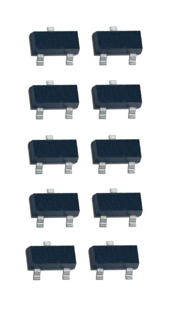 2N5401 Transistor PNP SMD 150V 600mA 10 Stück (0012)
