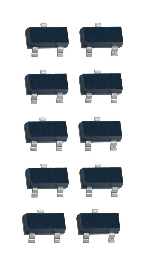BC848 SMD Transistor NPN 30V 100mA 10 Stück (0016)