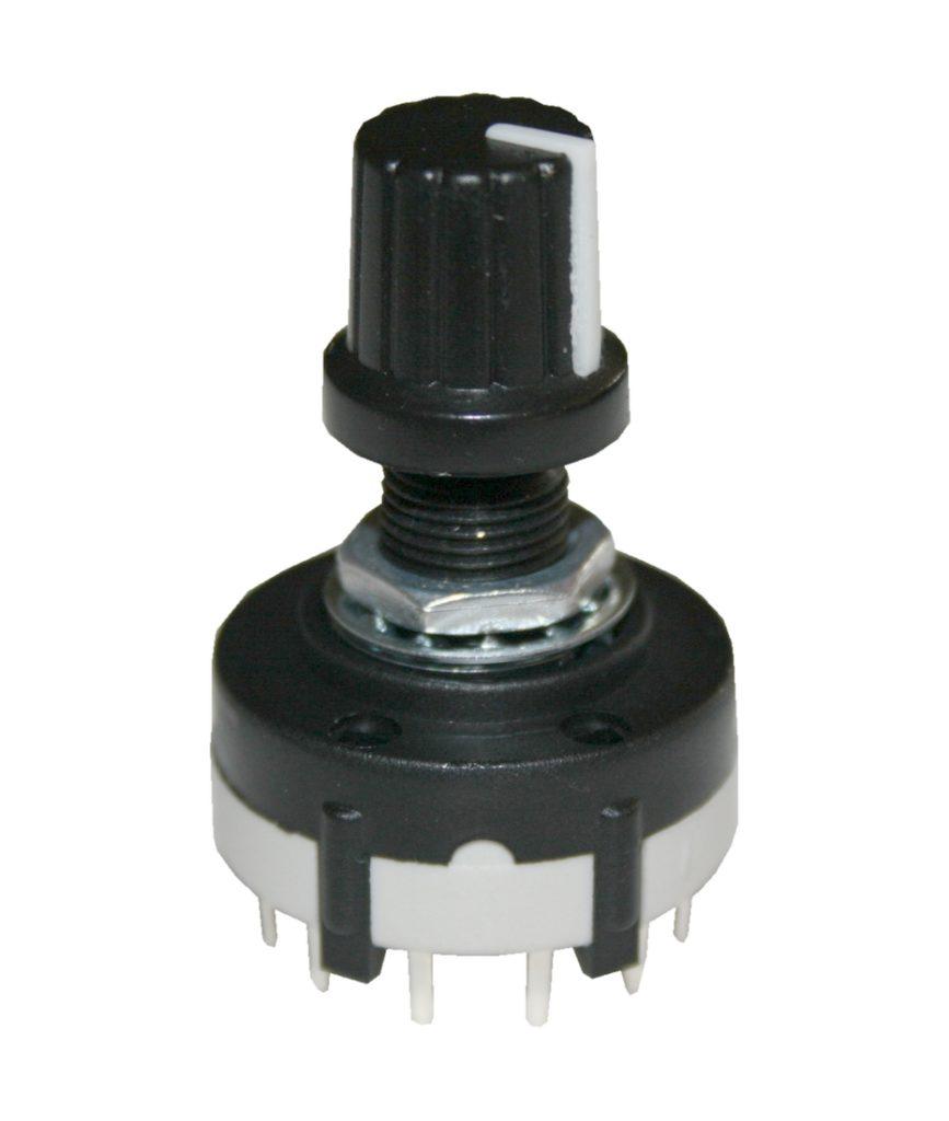 Drehschalter Stufenschalter Schalter 3Pole 4Stellungen AC 125V/350mA (0009)