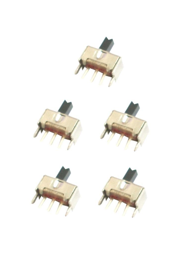 Mini Schiebeschalter Schalter SS12D07 3pin ON-OFF 5 Stück (0046)
