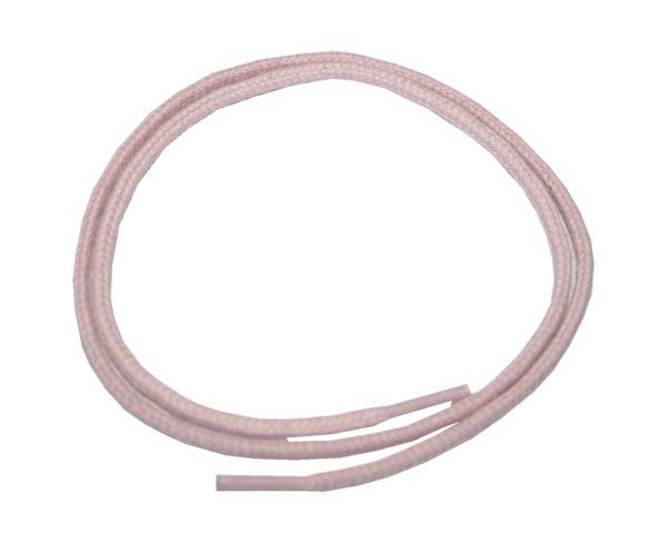 Schuhband Schnürsenkel 1 Paar Baumwolle 50 cm rund rose (0008)