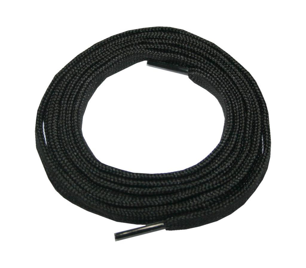 Schuhband Schnürsenkel 1 Paar Trekking Arbeitsschuhe 140 cm flach schwarz (0049)