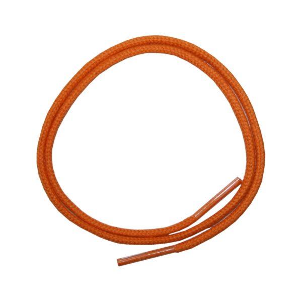 Schuhband Schnürsenkel 1 Paar Baumwolle 50cm rund orange (0131)