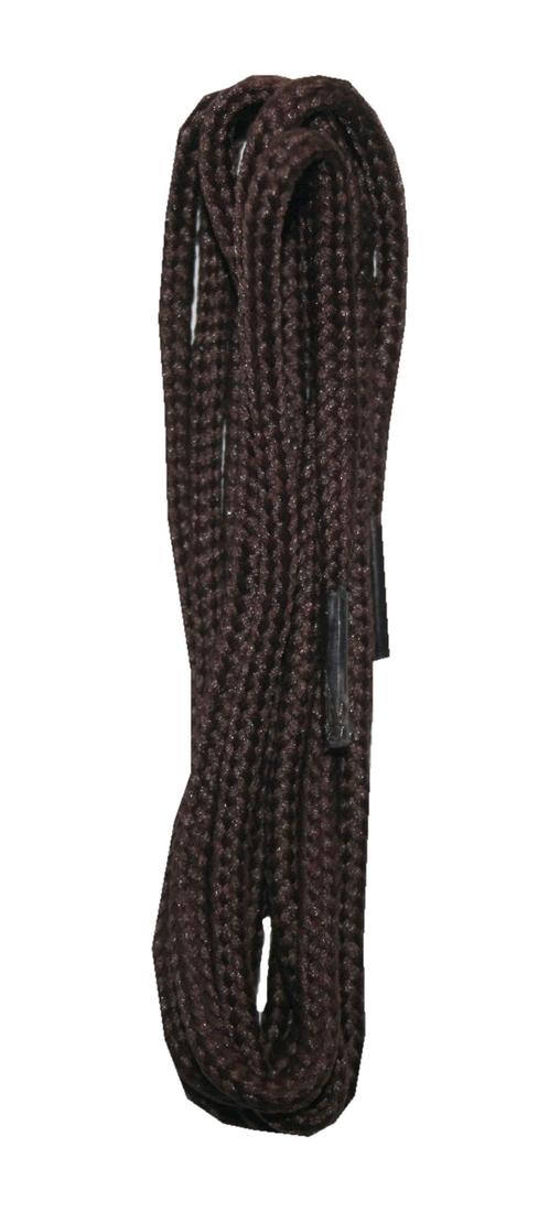 Schuhband Schnürsenkel 1 Paar Polyester 90cm rund braun (10012)