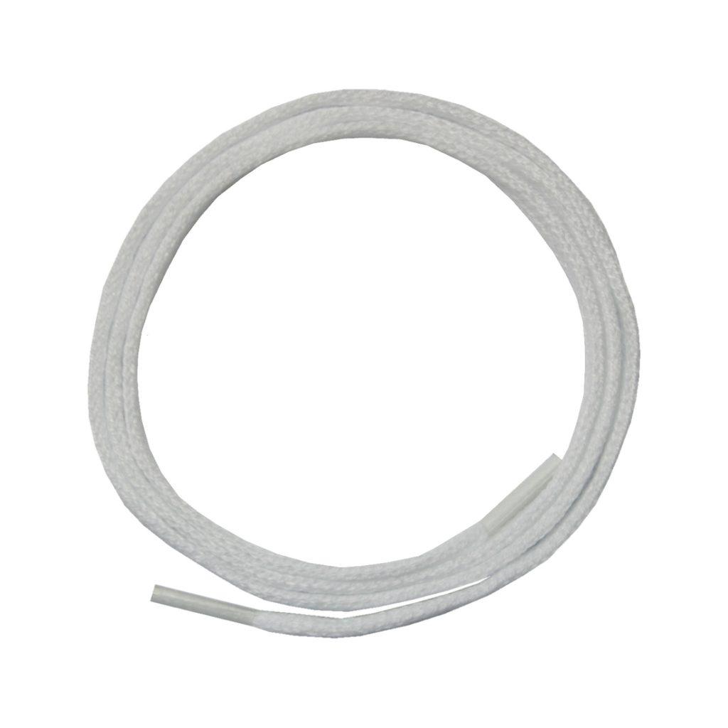 Schuhband Schnürsenkel 1 Paar Polyester 70cm flach weiß (10014)