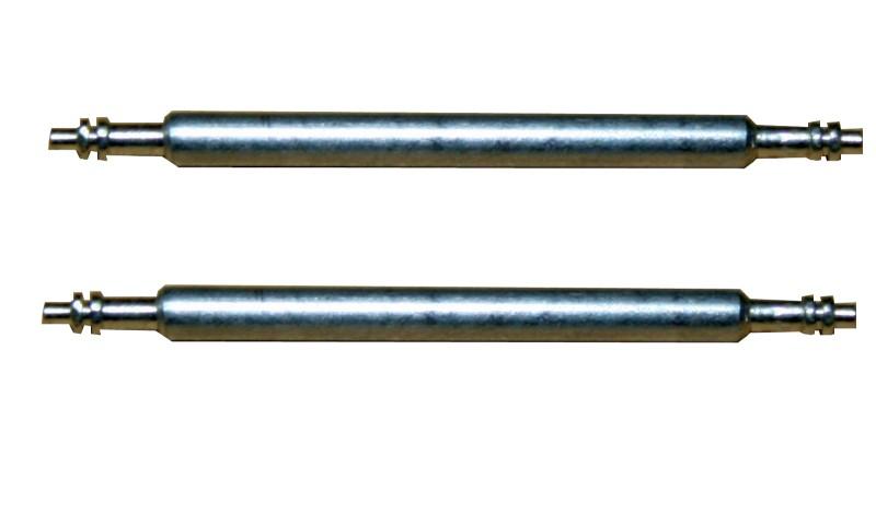 Federsteg Federstift Uhrensteg Stegbreite 15mm (Gesamtlänge 18mm) 2 Stück (0098)