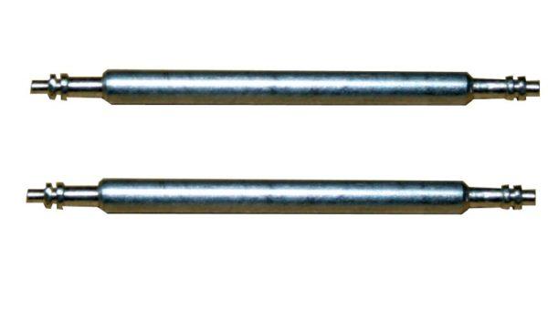 Federsteg Federstift Uhrensteg Stegbreite 17mm (Gesamtlänge 20mm) 2 Stück (0100)