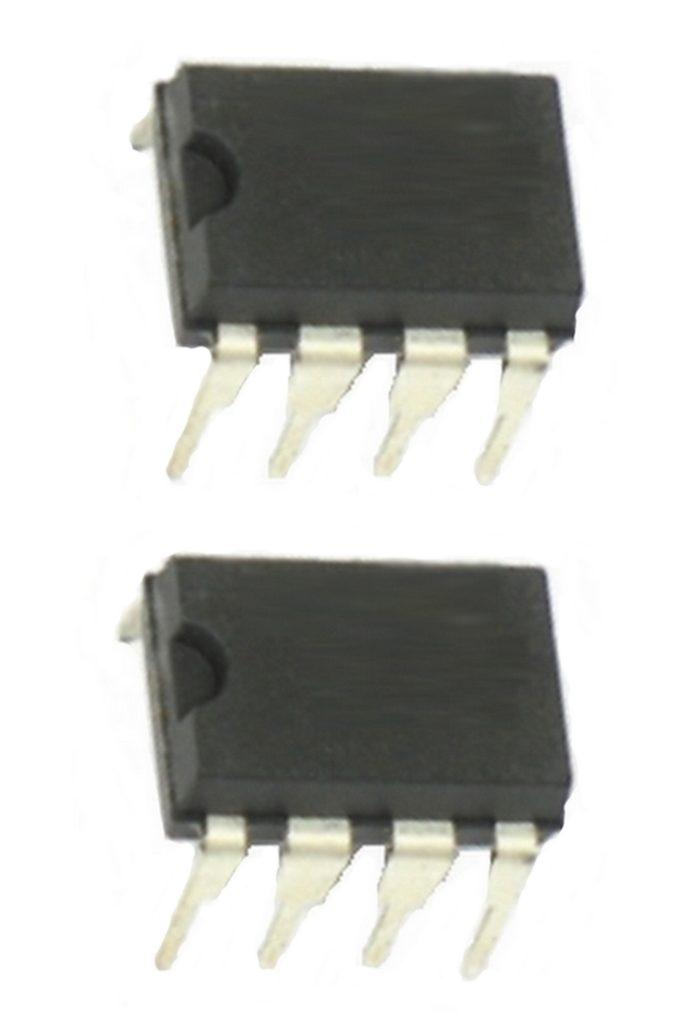 LM393N Dual Komperator Low-Power DIP-8 2 Stück (0054)