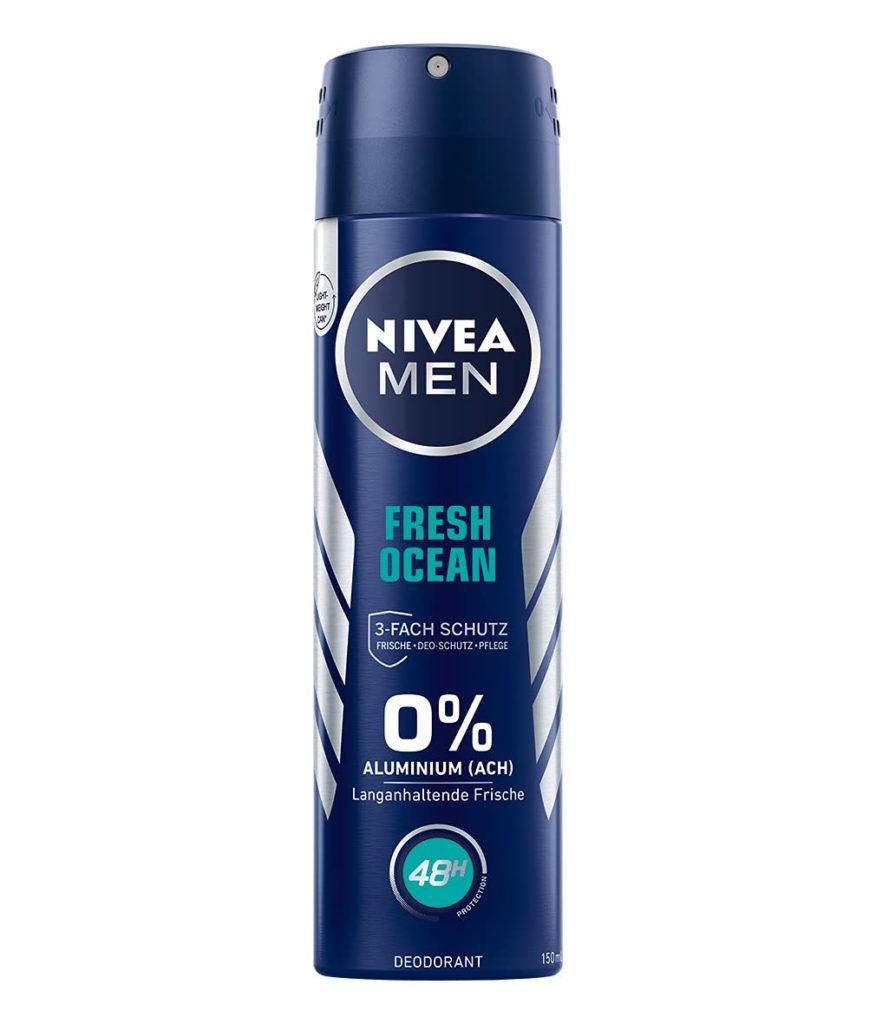 NIVEA MEN Fresh Ocean Deo Spray, 150 ml