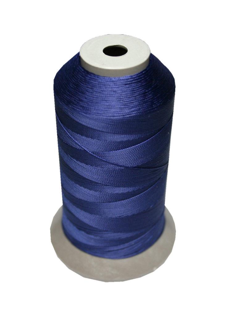 Sattlergarn Zwirn 14x2x3 Polyester 1000m dunkelblau Ø 0,3mm (5023)