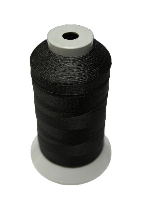 Sattlergarn Zwirn 14x2x3 Polyester 1000m schwarz Ø 0,3mm (5080)