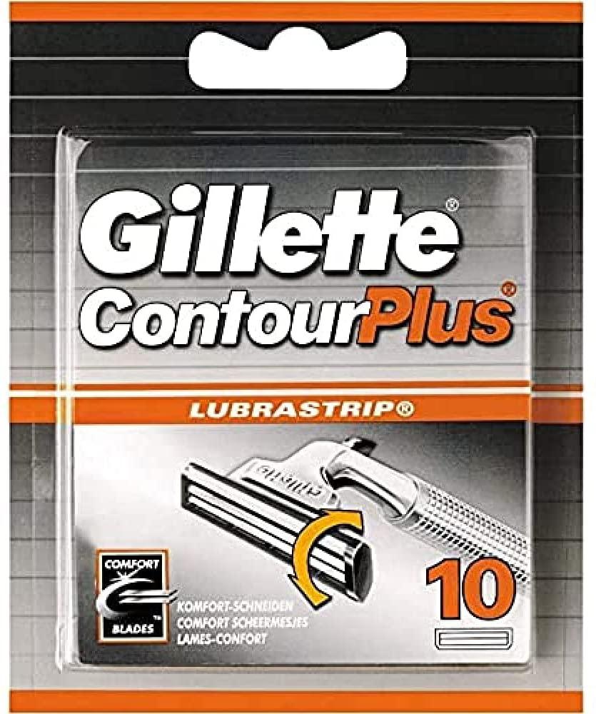 Gillette ContourPlus Rasierklingen, 10 Ersatzklingen