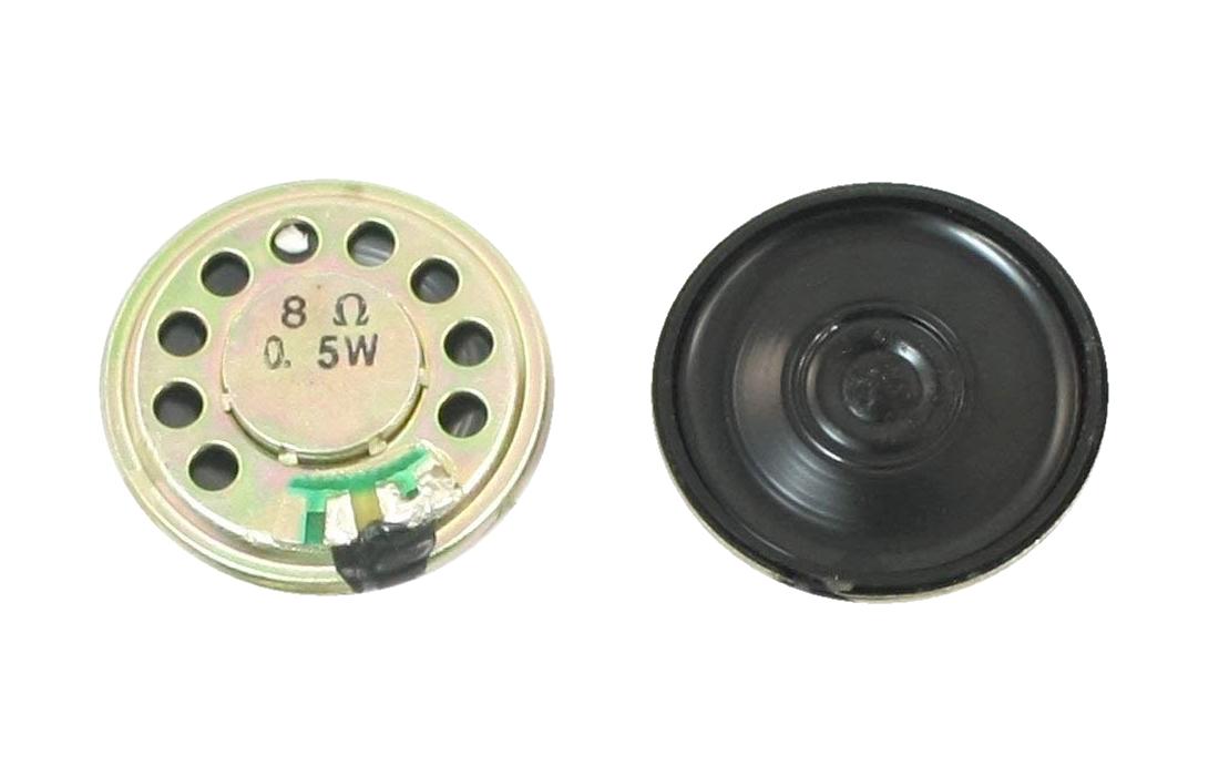 Mini Lautsprecher Speaker 8Ohm 0.5W 30mm 1 Stück (0008)