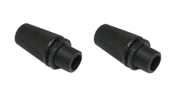 Zugentlastung Kabelduchführung 6mm schwarz 2 Stück (0246)
