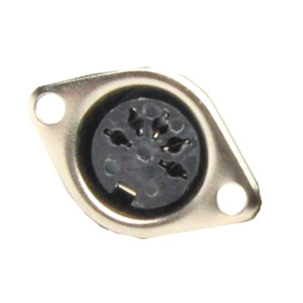 DIN Stecker 5 polig Einbaubuchse Buchse weiblich (0231)