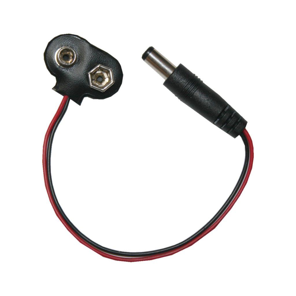 Adapterkabel 9V nach Hohlsteckerbuchse Mikrocontroller (0066)