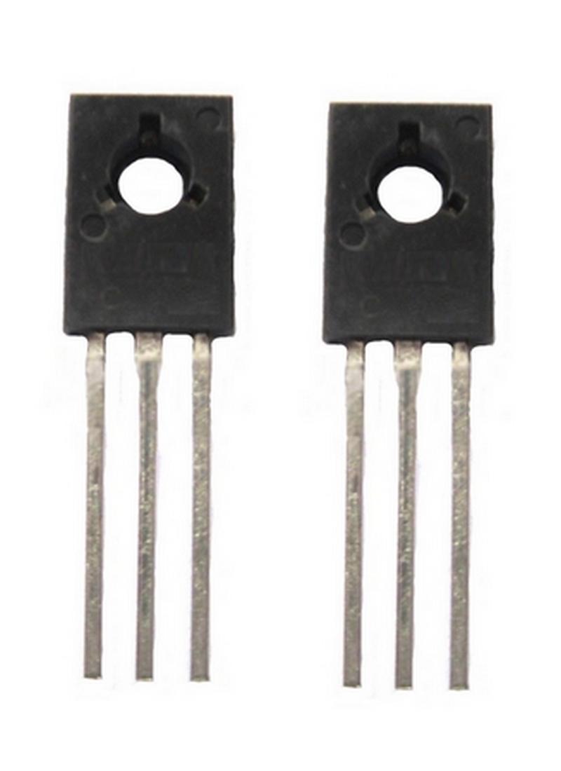 Transistor BD136 PNP 45V 1.5A TO126 2 Stück (0025)