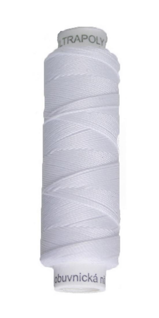 Sattlergarn Zwirn 50 m Polyester ULTRAPOLY 30 weiß (0001)