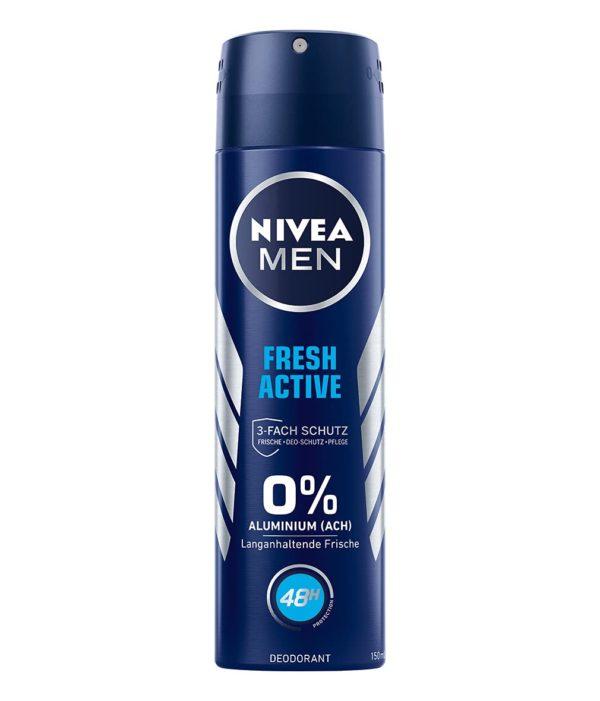 NIVEA MEN Deo Spray Fresh Active, 150 ml