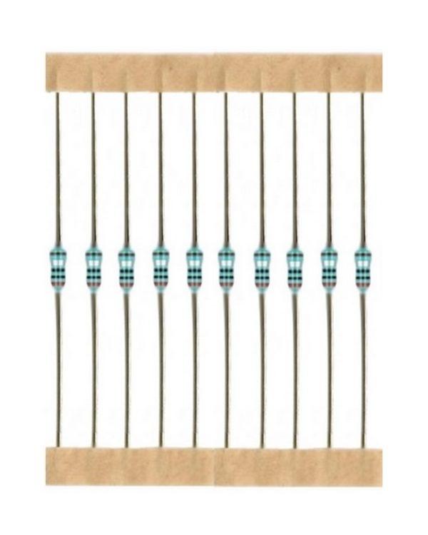 Kohleschicht Widerstand Resistor 1,1 Ohm 0,25W 5% 10 Stück (1001)