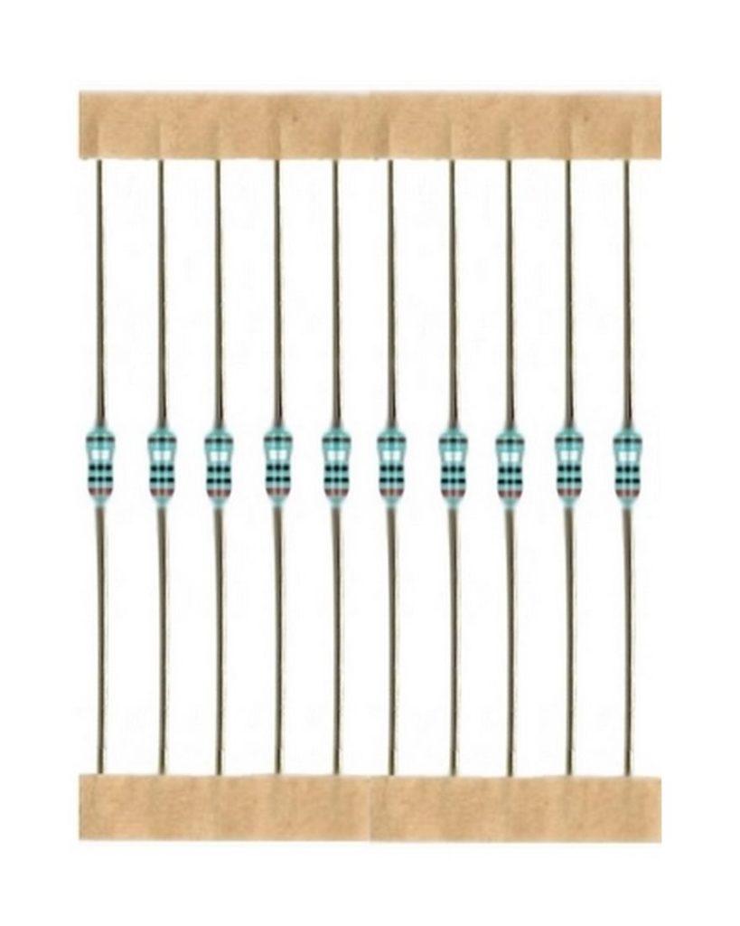 Kohleschicht Widerstand Resistor 1,3 kOhm 0,25W 5% 10 Stück (4003)