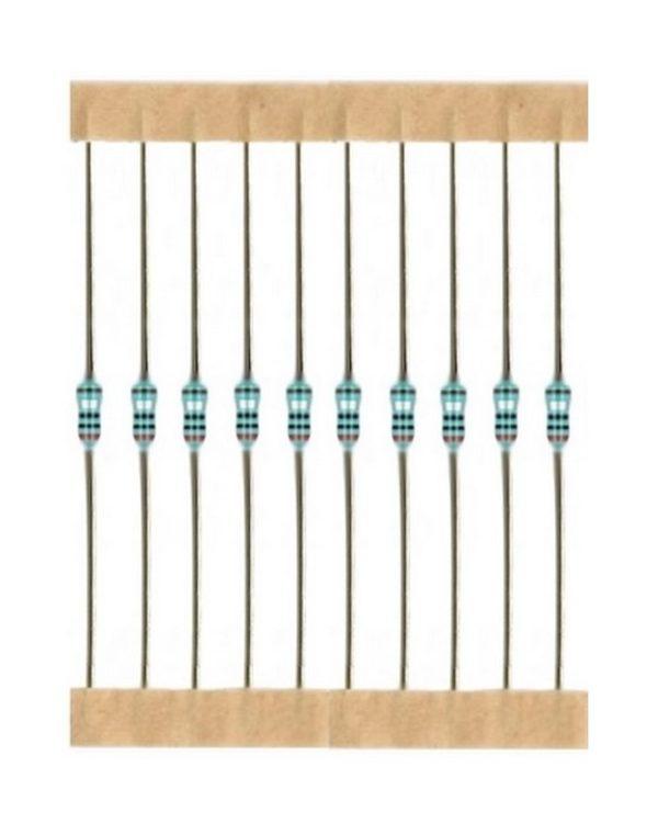 Kohleschicht Widerstand Resistor 5,1 kOhm 0,25W 5% 10 Stück (4017)