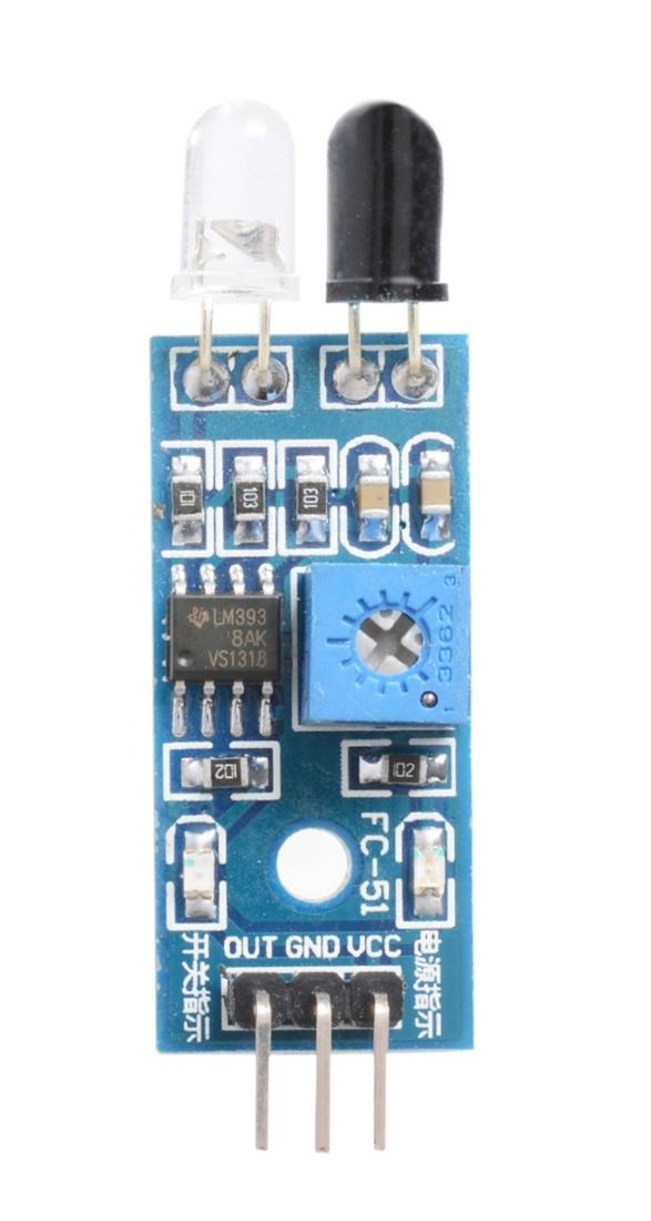 Infrarot Kollissions und Hinderniserkennung Sensor Modul Mikrocontroller (0004)