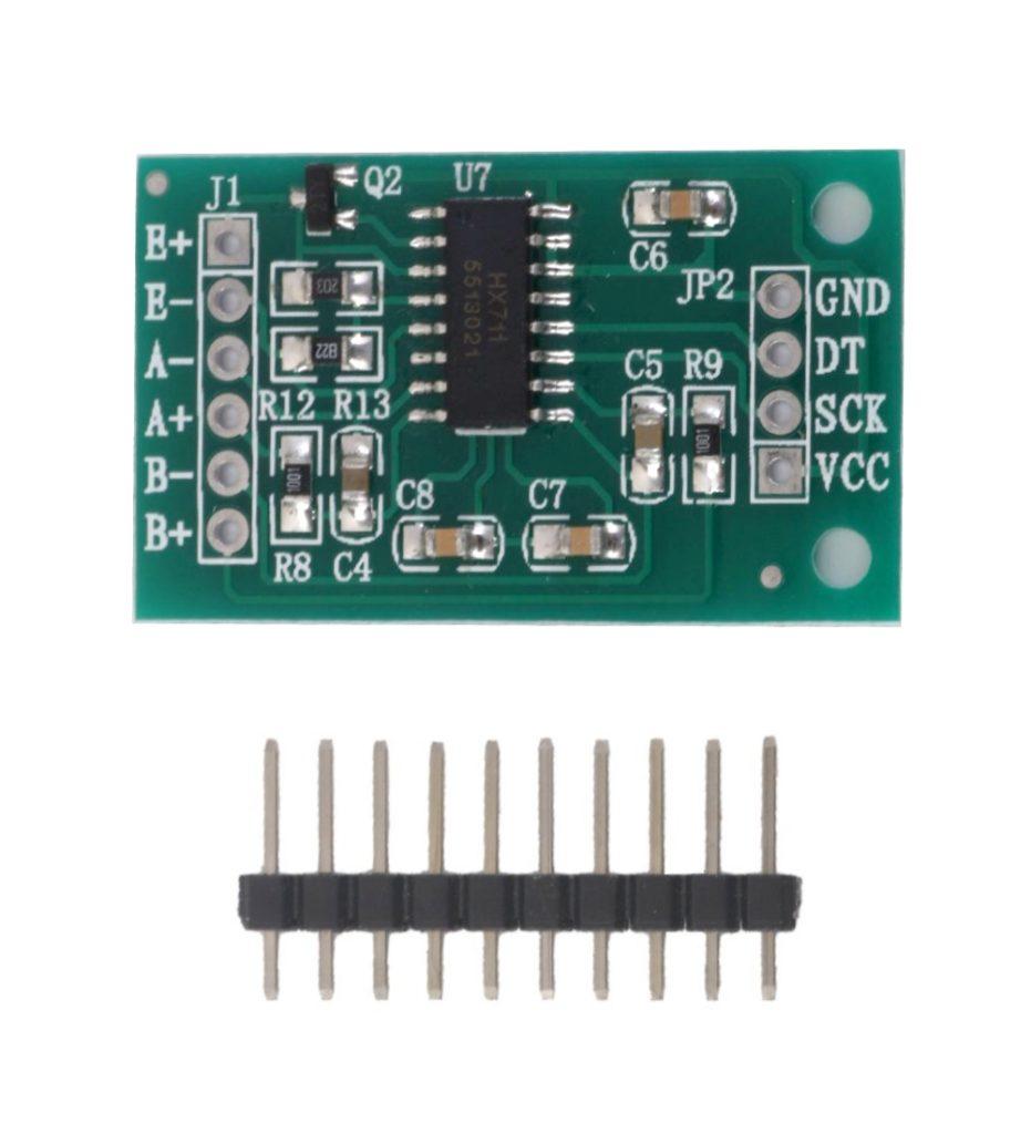 HX711 Wägesensor Druck-Sensor 24 Bit Mikrocontroller (0005)