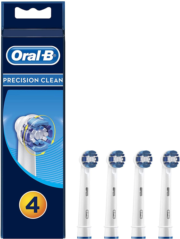 Oral-B Precision Clean Aufsteckbürsten, 4 Stück