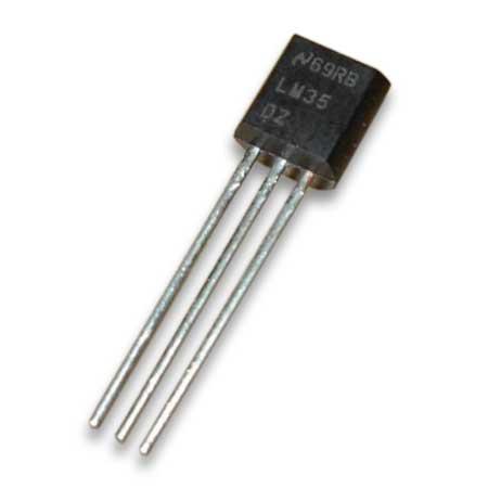 LM35DZ LM35 Temperatursensor 0...100°C Mikrocontroller (0001)