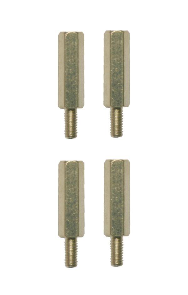 Distanzbolzen Abstandshalter Sechskant M3 20mm 4 Stück (0188)