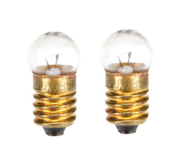 Glühlampe Glühbirne E10 3V/0,11A 2 Stück (8228)