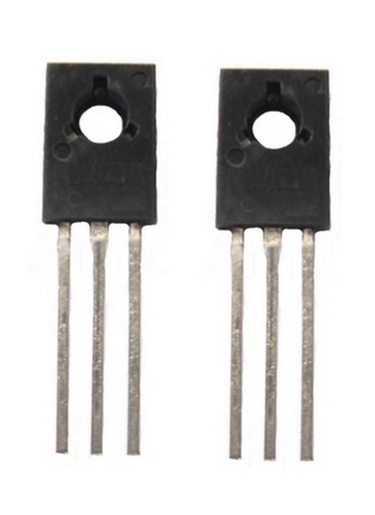 Transistor BD138 PNP 60V 1.5A TO126 2 Stück (0027)