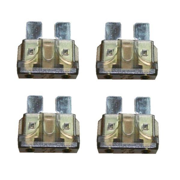 KFZ-Flachsicherung Sicherung 7,5A braun 4 Stück (0032)