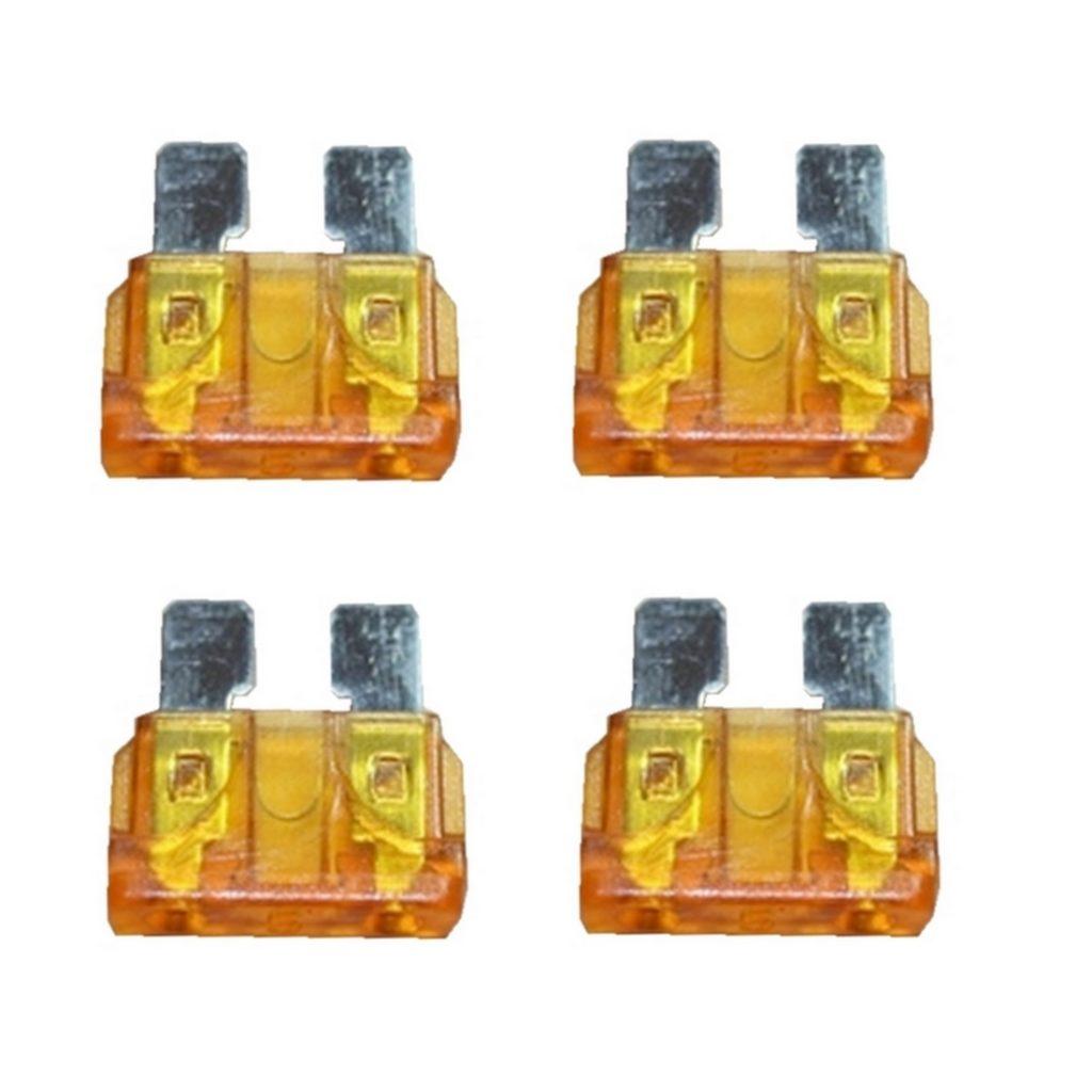 KFZ-Flachsicherung Sicherung 5A orange 4 Stück (0033)