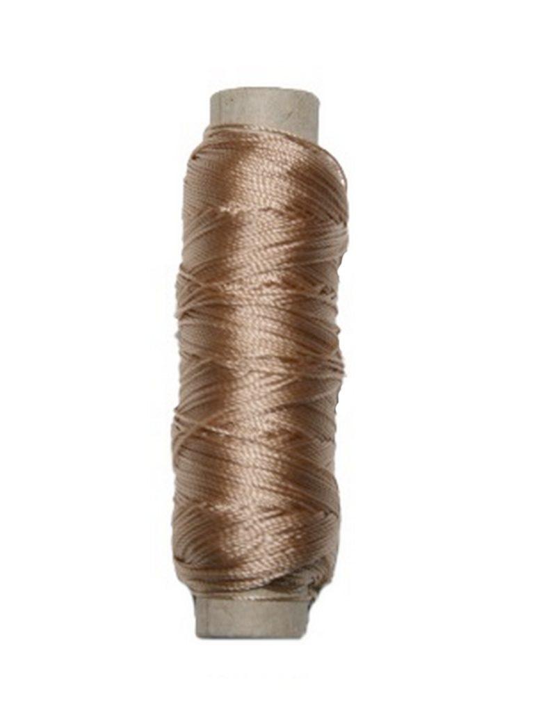 Sattlergarn Zwirn 14x2x3 Polyester 50 m beige Ø 0,3mm (5045)