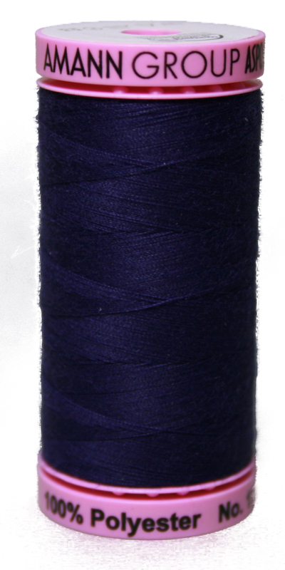 Zwirn 100 % Polyester ASPO PES 120 Amann blau 500 m (0016)