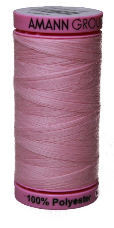Zwirn 100 % Polyester ASPO PES 120 Amann rosa 500 m (0082)
